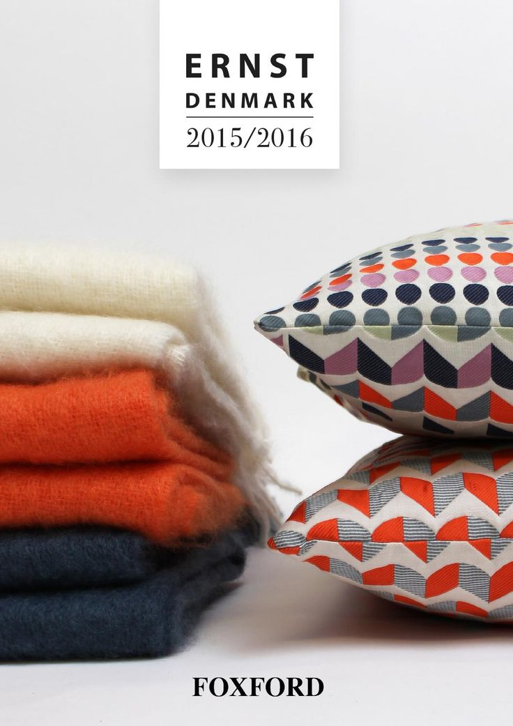 This is the new catalouge from ERNST-DENMAKR 2015/2016. This year we are proud to present a more scandinavian collection of woolen throws.