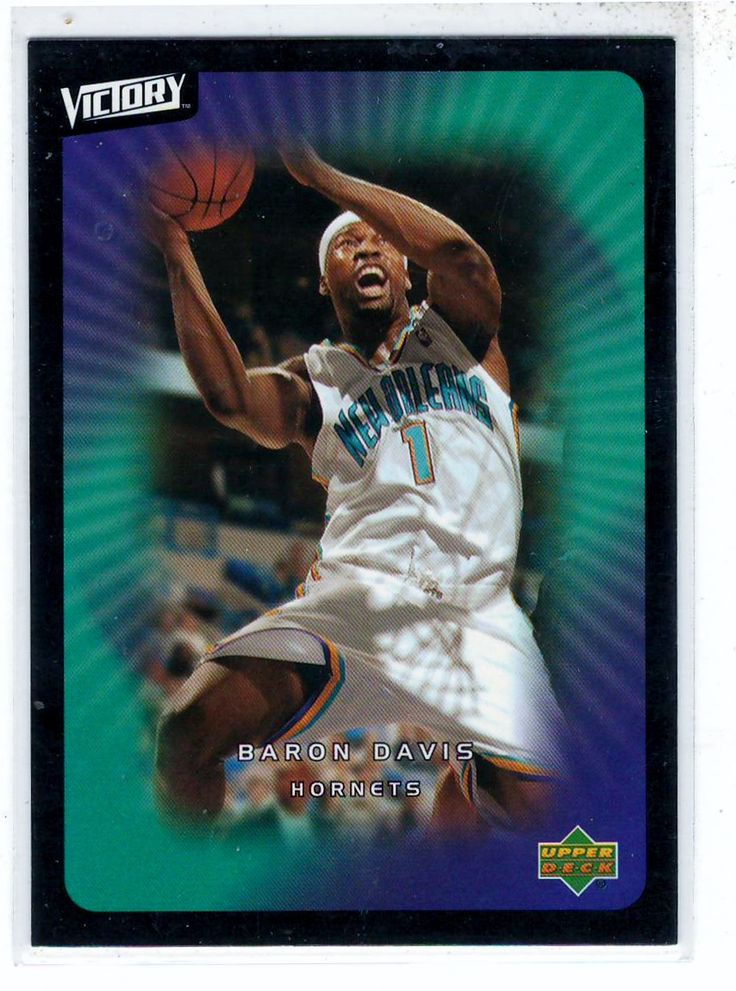 Sports Cards Basketball - 2003 UD Victory Baron Davis