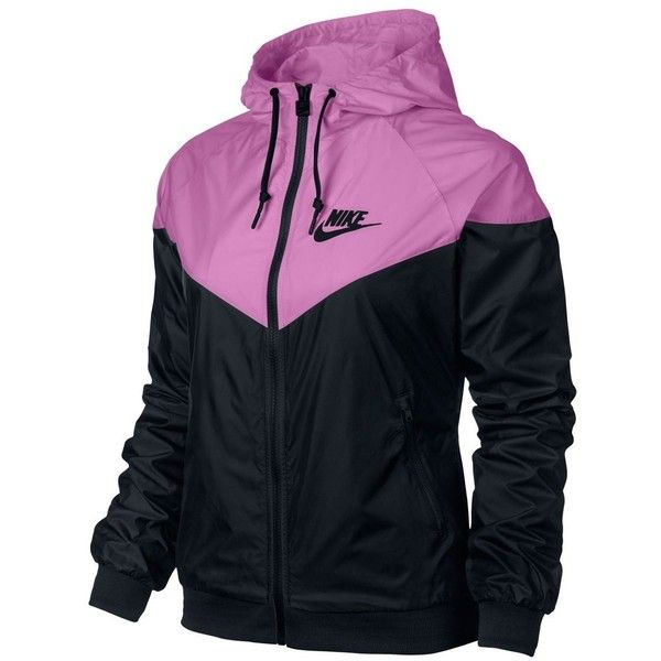 Women's Nike Windrunner Jacket ($85) ❤ liked on Polyvore featuring activewear, activewear jackets, jackets, outerwear, nike, nike sportswear and nike activewear