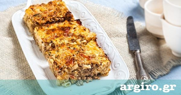 Γρήγορο παστίτσιο με γιαούρτι από την Αργυρώ Μπαρμπαρίγου | Ετοιμάστε το σε 5 μόνο λεπτά και βάλτε το στο φούρνο χωρίς να βράσετε το μακαρονάκι. Απλά τέλειο