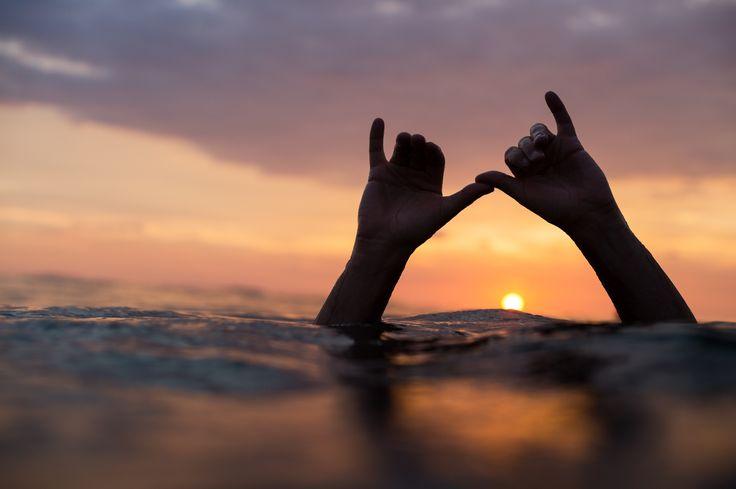 Sunset watchers  | Pinterest: catherine__anne ☾☼