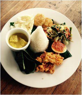 Food from Ubud