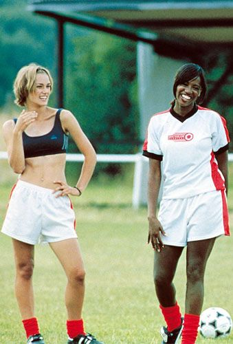 "Keira Knightley as Juliette ""Jules"" Paxton & Shaznay Lewis as Mel - Bend It Like Beckham"