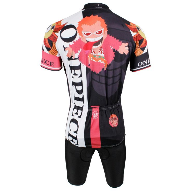 ONE PIECE Sea King Black Cycling Suit Luffy Brook Franky