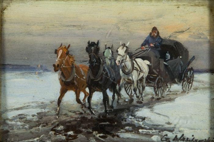 Czesław Wasilewski - Czterokonna dorożka