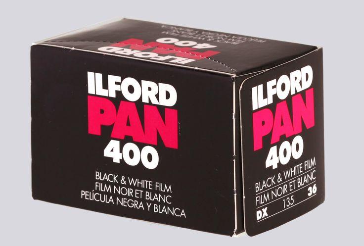 ILFORD PAN 400 135/36  Pellicola bianco e nero  #darkroom #pellicole #bianconero mailto:info@fotomatica.it | www.fotomatica.it