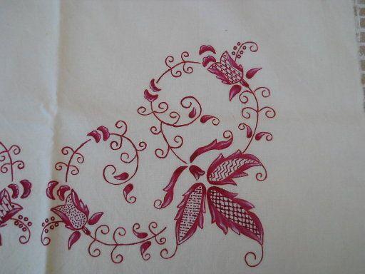 bordado mallorquin bordado (2)   Aprender manualidades es facilisimo.com