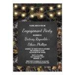 Hunting Camo  Chalk Engagment Party Invitations