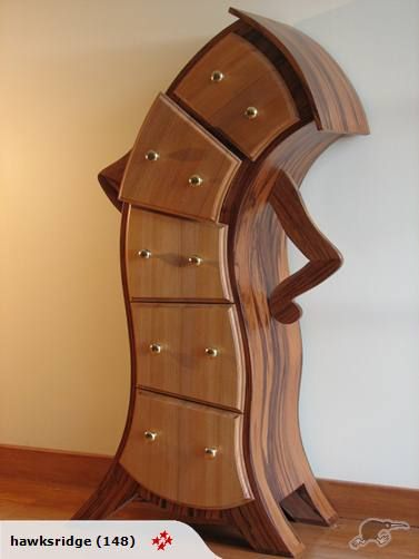 Super cute drawers, I would love this in my home.