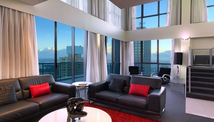 3 Bedroom #Penthouse Apartment #Meriton #Luxury #Hotel #Sydney #Pitt Street