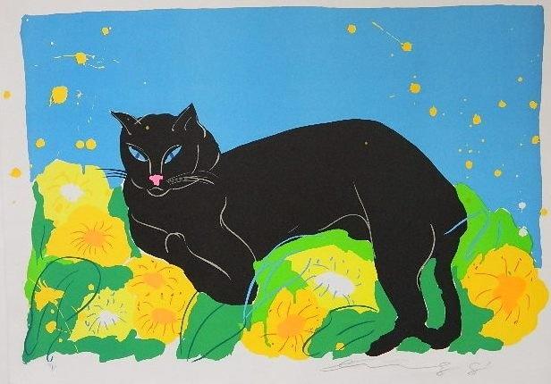 by wallace tingCat Art, Art Chat, El Art, Cats In, Black Cats, Art Du, World, Walass Ting, Art Black