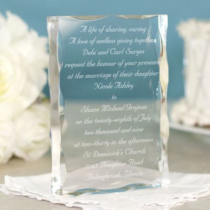Wedding Invitation Gift Ideas