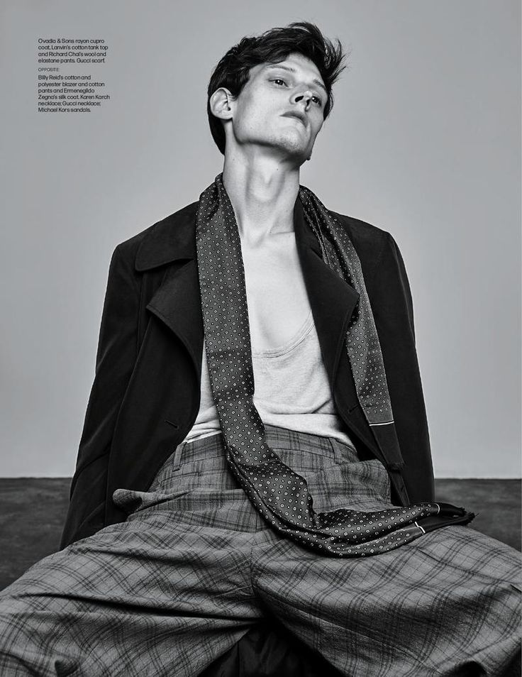 Adam Butcher + Dane Bell Don Relaxed Silhouettes for WWD
