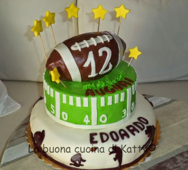 La buona cucina di Katty: Rugby cakes - torta Rugby