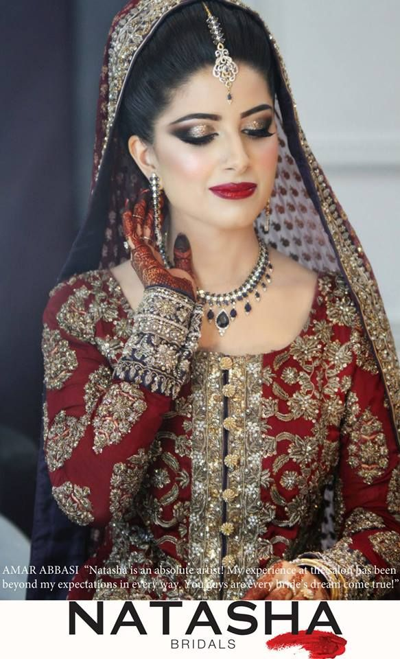 natasha salon Pakistani bride
