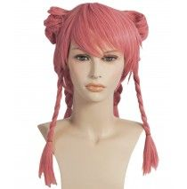 Pink Cosplay Adult Wig -One-Size
