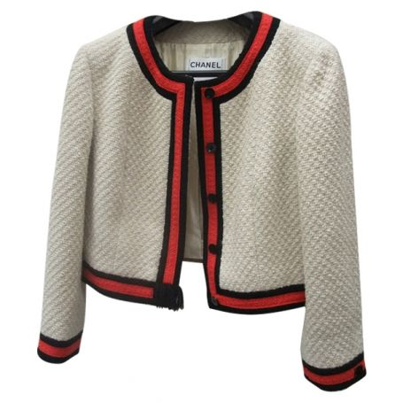 Chanel  jackets   OH! YOU PRETTY THINGS: EN VOGUE - CHANEL TWEED JACKET