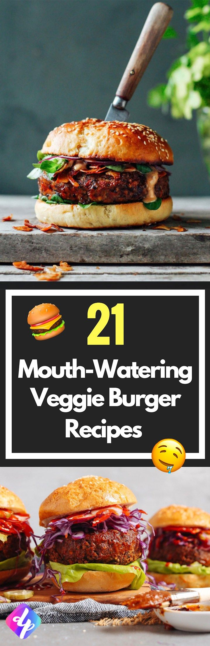 21 Mouth-Watering Veggie Burger Recipes Even Meat Eaters Will Love!