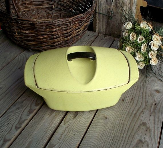 Le Creuset Dutch Oven  Raymond Loewy  by MyFrenchBricABrac on Etsy