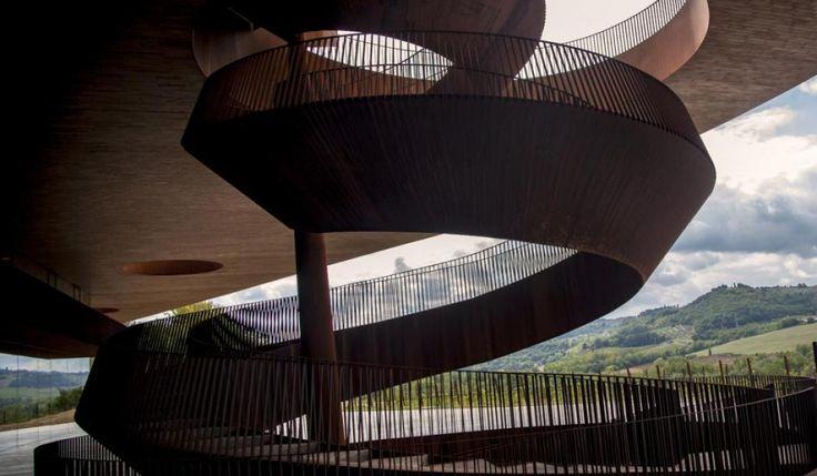 Marco Casamonti - Architectural brilliance - Antinori Chianti Classico - winery and headquarters