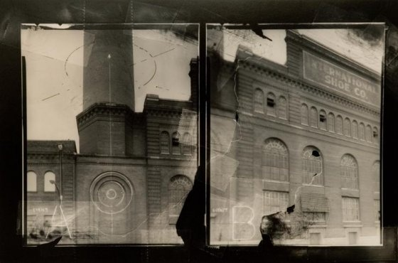 The Blind Arch, negative collage