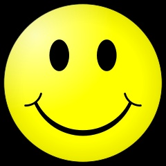 Smiley face (seen everywhere!)