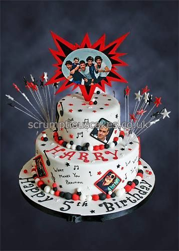 One Direction Birthday Cake - PJ x