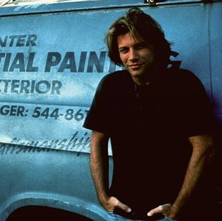 "Jon Bon Jovi ""Moonlight and Valentino"" @living.in.sin_jbj   Instagram - ""It should be illegal to look that hot """