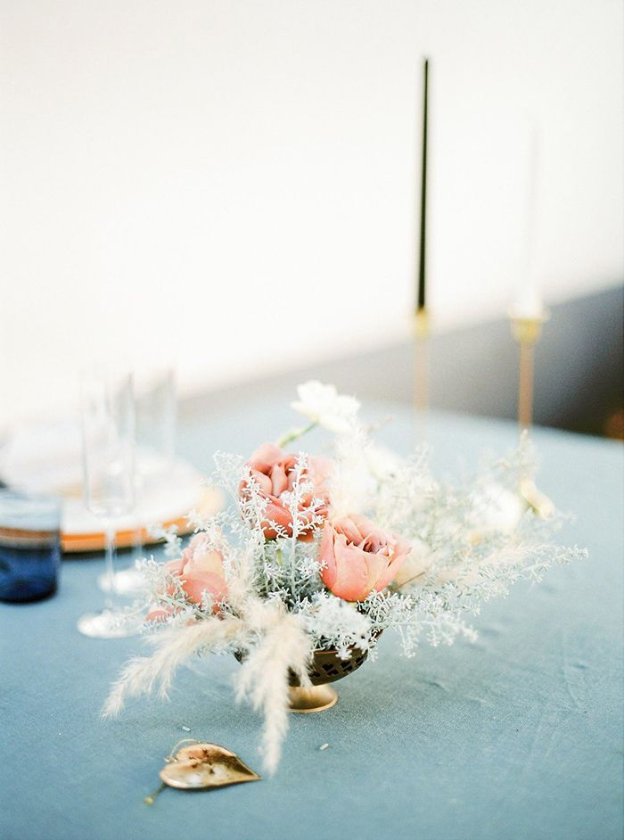 Intimate and Cozy Winter Wedding in Portugal  https://heyweddinglady.com/intimate-cozy-winter-wedding-portugal/    #wedding #weddings #weddinginspiration #bluewedding #winterwedding #portugal #floralarrangement