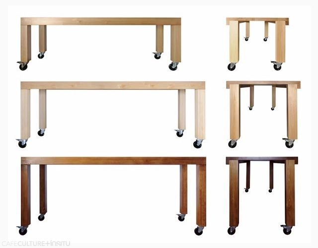 CANARY DINING TABLE BY CAFE CULTURE