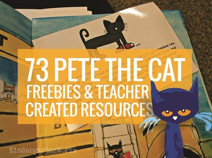 Pete the Cat is the go-to book for many classrooms. Here are free Pete the Cat activities, videos and books - perfect for kindergarten and first grade.