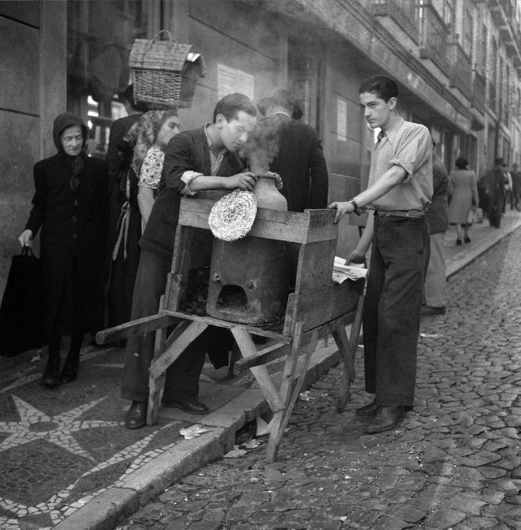 Vendedor de Castanhas - Rua do Carmo Lisboa