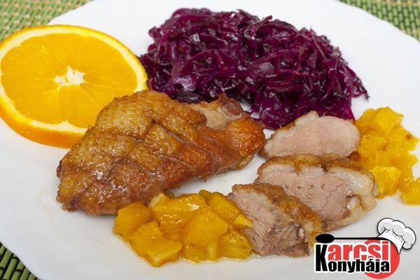 Narancsos kacsamell - Karcsi konyhája