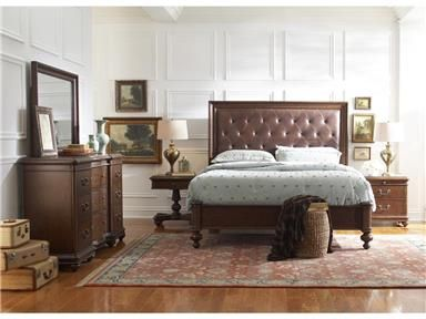 Pulaski Furniture Montgomery Queen Bed, Dresser, Mirror U0026 Nighstand At  Great American Home Store