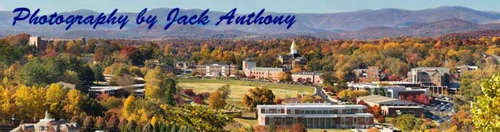 Local photographer Jack Anthony always takes spectacular photos of the campus.  Here is the link to his website.