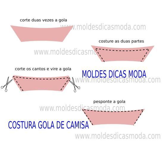 COSTURA GOLA DE CAMISA