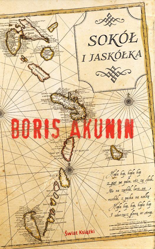 Sokół i Jaskółka (Сокол и Ласточка) | Boris Akunin • Polish edition by Świat Książki