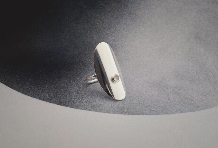 Crystal Rock ring from Vera Vega