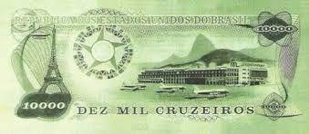 Resultado de imagem para Réplica Cédulas De Ensaio - Santos Dumont 10000