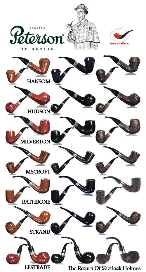 Dýmky Peterson Sherlock Holmes The Return Of Sherlock Holmes Peterson Sherlock Holmes The Return Of Sherlock Holmes Pipes