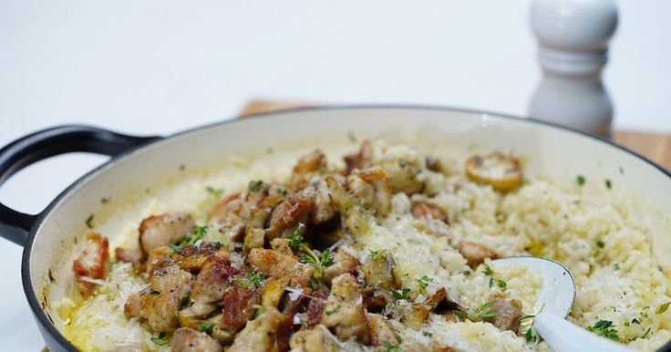 A basic risotto recipe is a must in every cook's repertoire and this one tastes great - it's bursting with fresh herbs. Pour a glass of wine and sip while you stir until your risotto is creamy and al dente.
