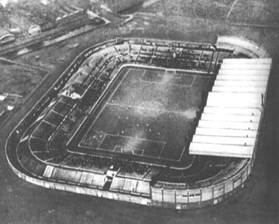 Old Trafford when it was new