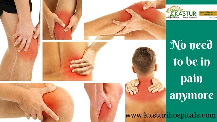 No need to be in pain anymore... Kasturi Multi Specialty Hospitals provide you the best treatment for Joint pain at affordable rates.