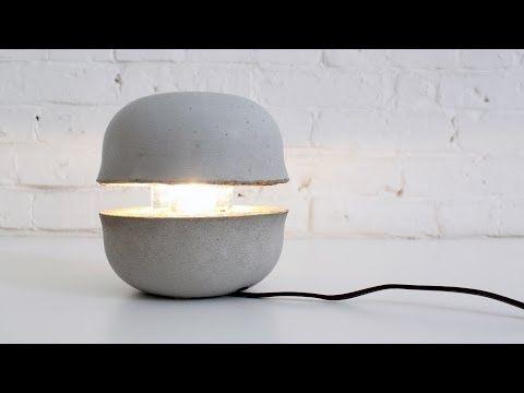 HomeMade Modern EP36 Concrete Bowl Lamp