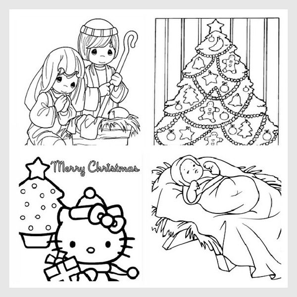 free christmas coloring pages - Coloring Prints