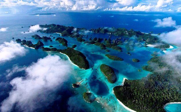 I forgot how beautiful Indonesia is. (Kepulauan Raja Ampat, Papua Barat. Foto: Wego Photo Contest/Cakra Jafa)