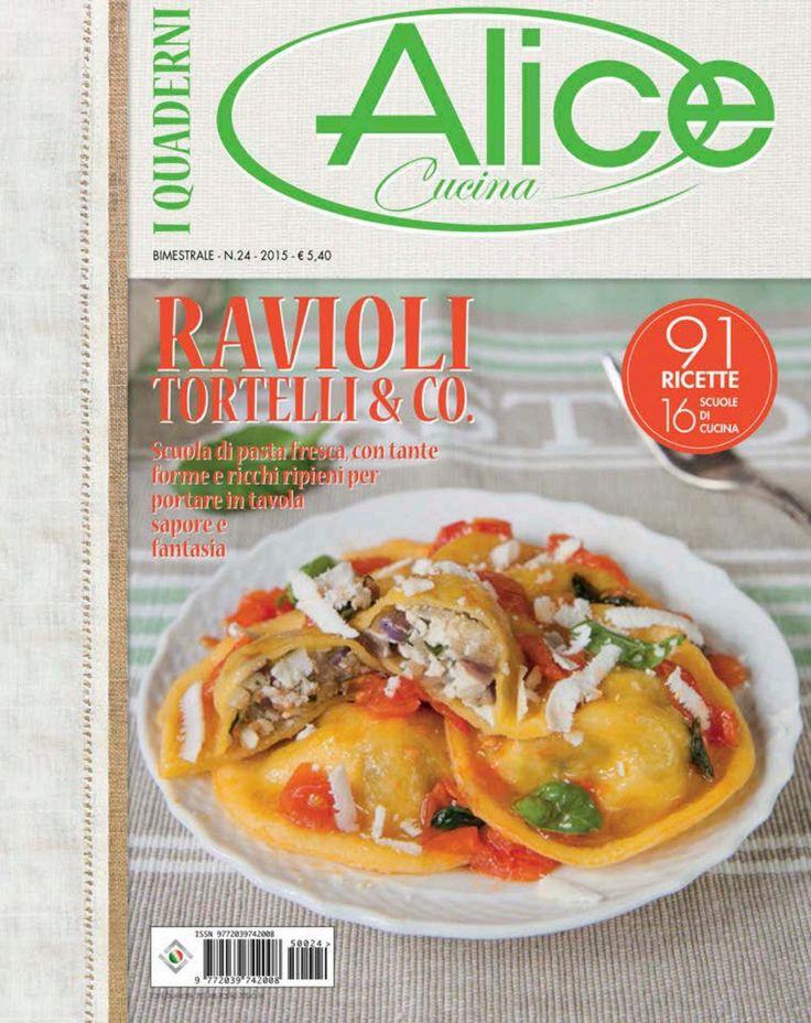 Alice cucina Quaderni Ravioli Lidia