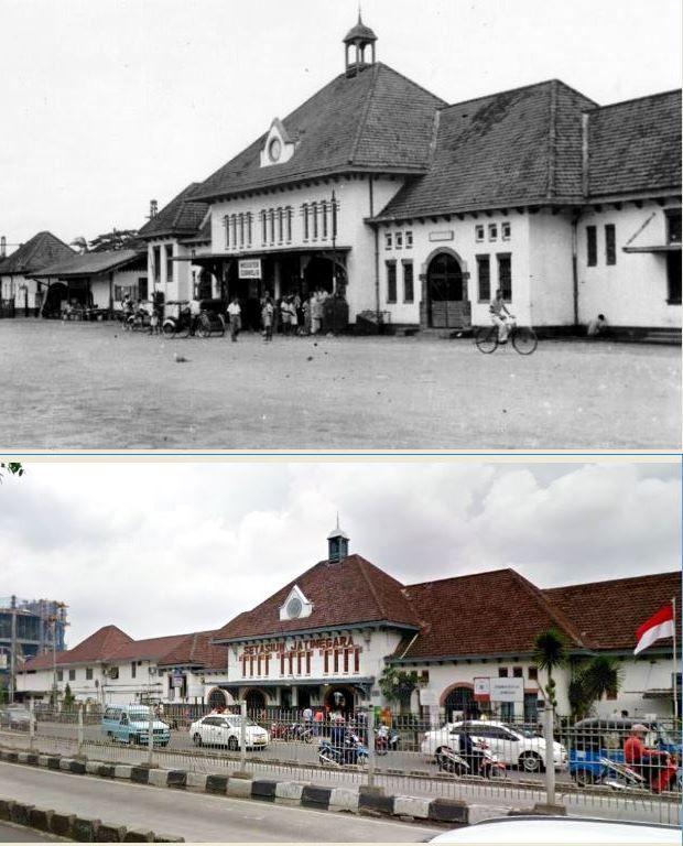 Station Meester Cornelis te Batavia, 1925an ,.,. Stasiun Jatinegara, Jakarta 2016