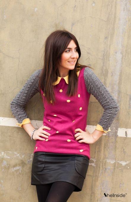Rose Red Dress - Womens Fashion Clothing at Sheinside.com #sheinside