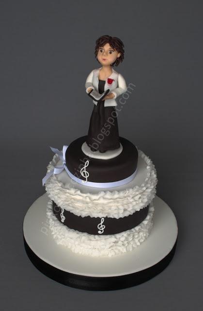 Cake Design For Singer : Choir singer Cake Pirikos na Cozinha Cake ideas ...